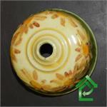 alter Keramik Lampenabdeckung