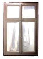 Gebrauchtes Fenster EV mit Oberlicht
