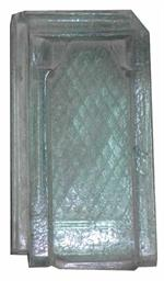 Glasziegel gebraucht 42cm x 23cm
