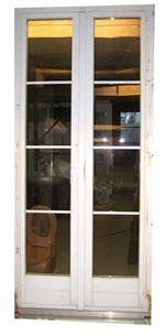 Occasion Balkontüre Holz, IV mit Sprossen
