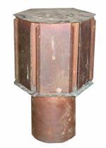 Occasion Kaminaufsatz, Kupfer 11.5 cm